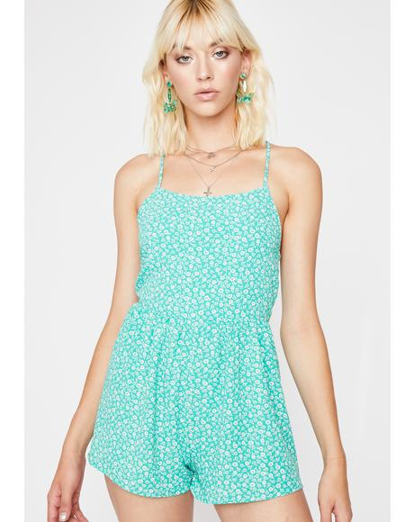 Mermaid Playin' Mind Games Cami Romper