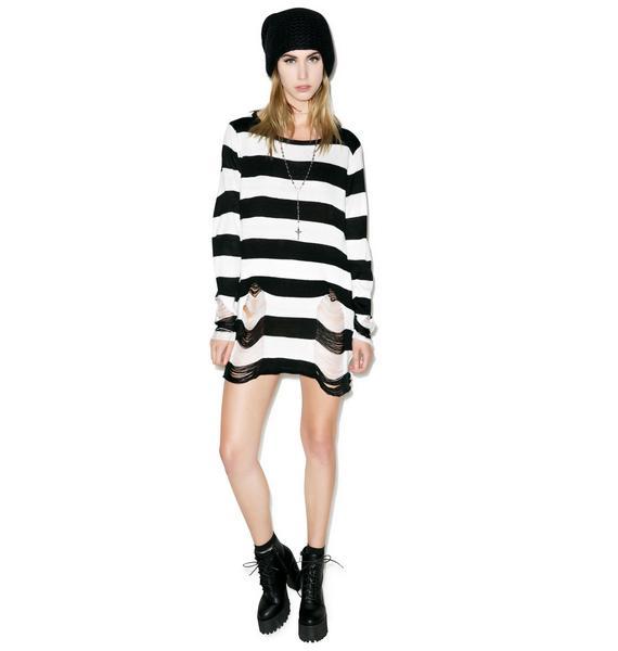Killstar Pugsley Knit Sweater