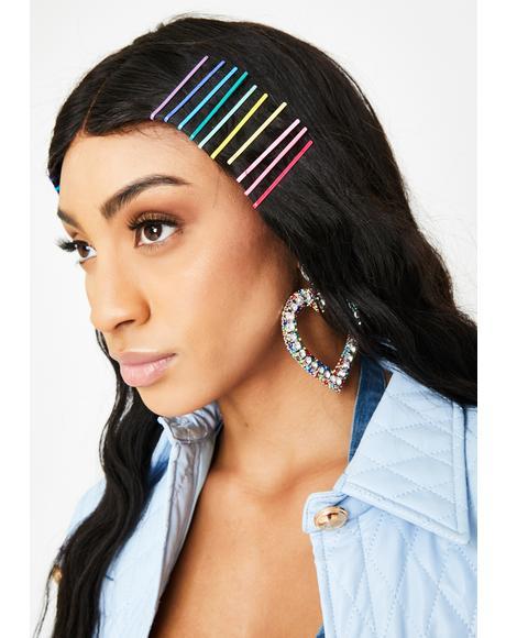 Freaky Bright Idea Hair Pins