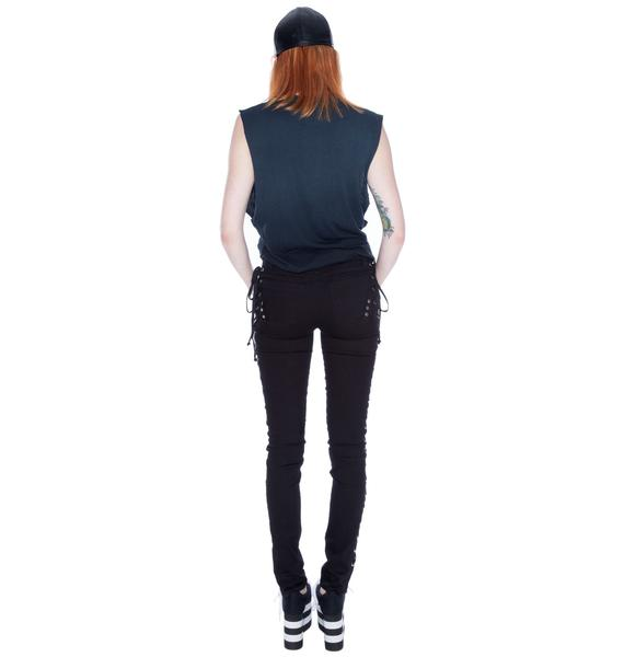 Tripp NYC Side Lace Jeans