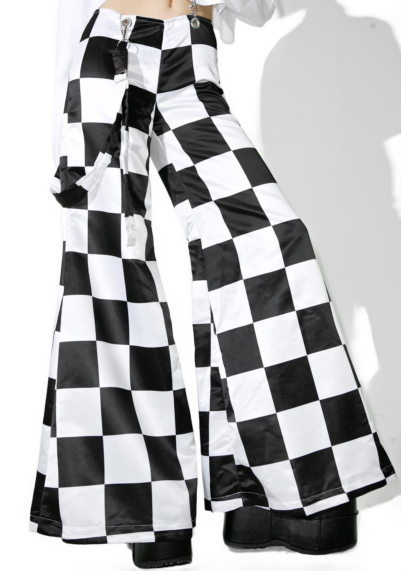 DEVOWEVO Prankster Checkerboard Suspender Bells