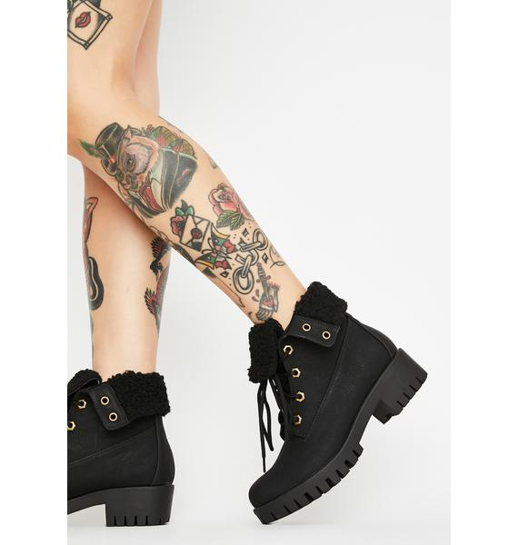 Find Yourself Sherpa Booties