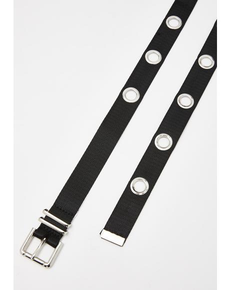Wicked Ways Grommet Belt