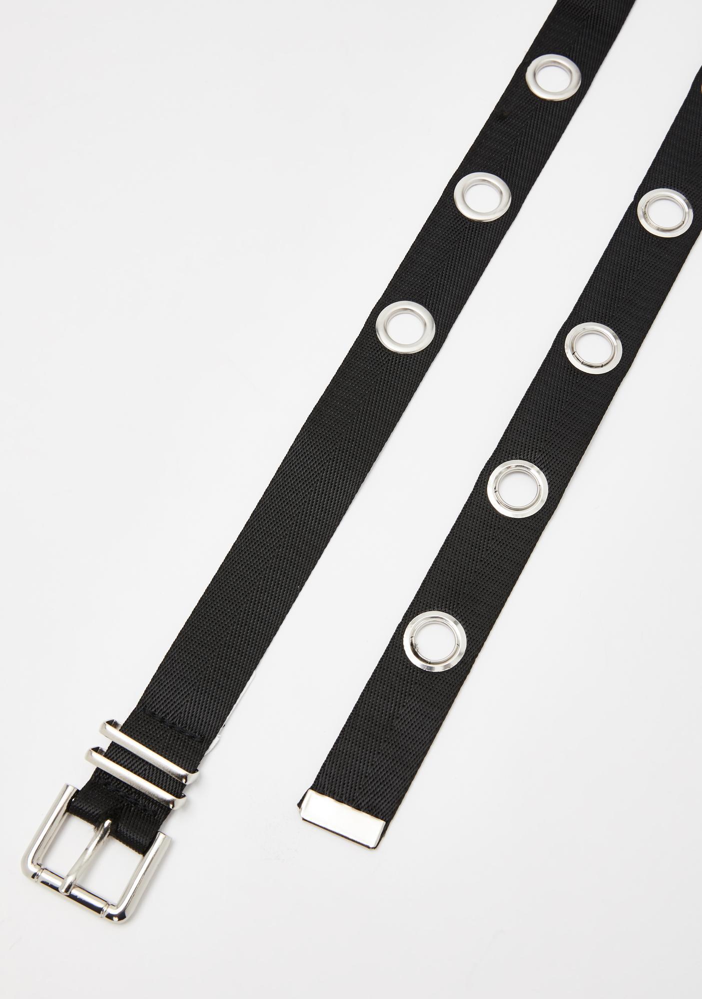 Wicked Ways Grommet Belt