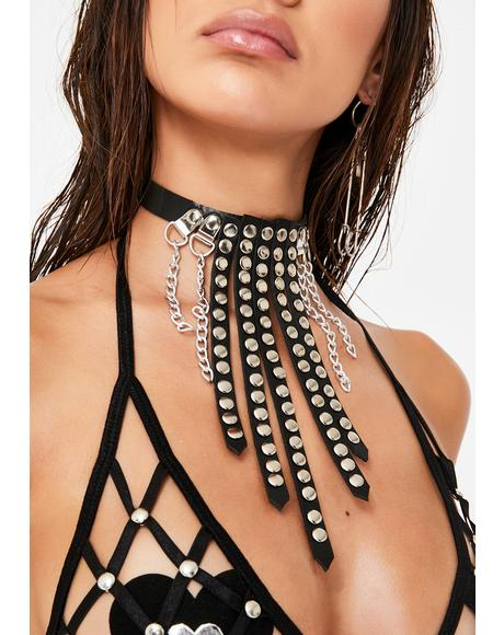 Can U Handle It Fringe Choker