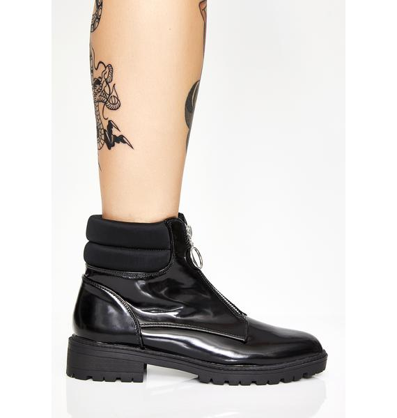 Back Off Ankle Boots