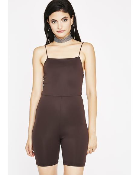 Cocoa Strut It Bodycon Catsuit