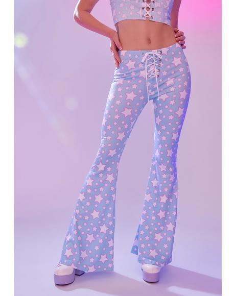 Dancing In Starlight Flare Pants