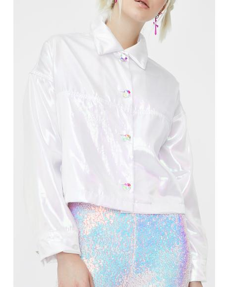 Fairy Dust Iridescent Jacket