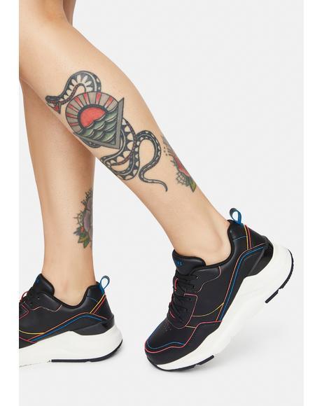 Rovina Colorful Wayz Sneakers