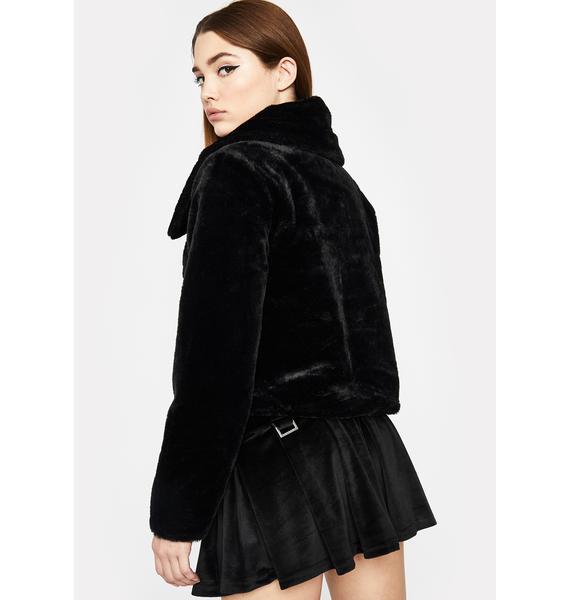 Cutie Moment Faux Fur Jacket