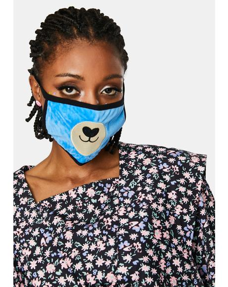 Baby Bear Face Mask