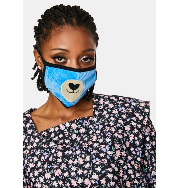 Baby Bear Face Mask