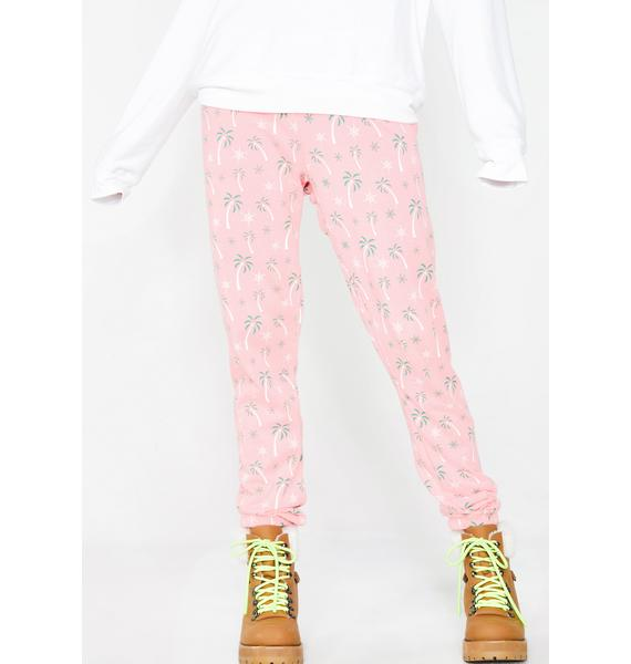 Wildfox Couture Tropical Christmas Knox Pants