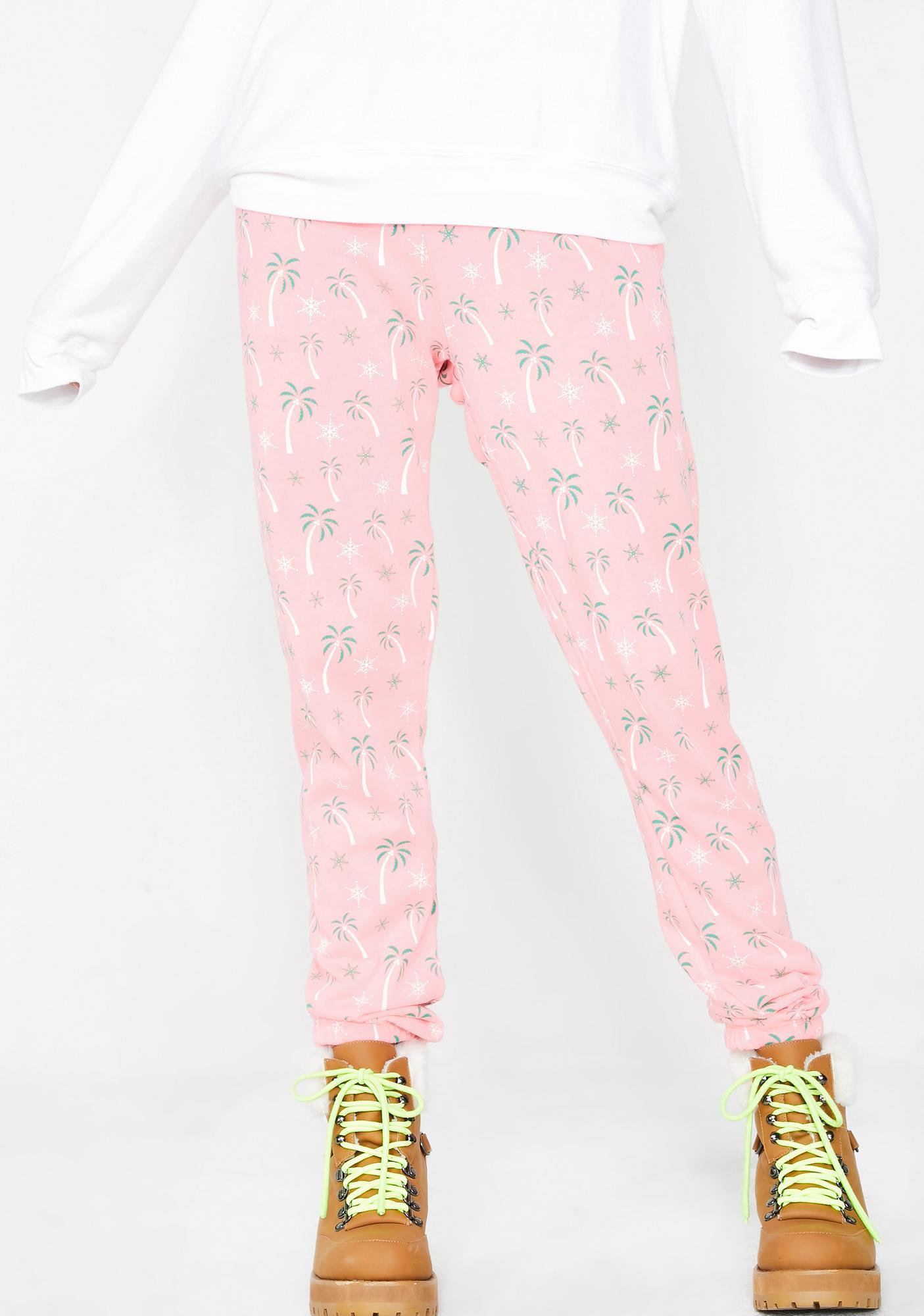 Wildfox Christmas Pajamas.Tropical Christmas Knox Pants
