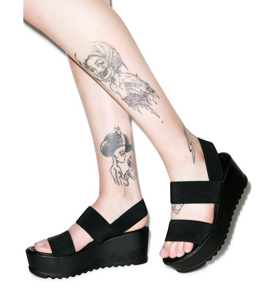 Majesty Platform Sandals