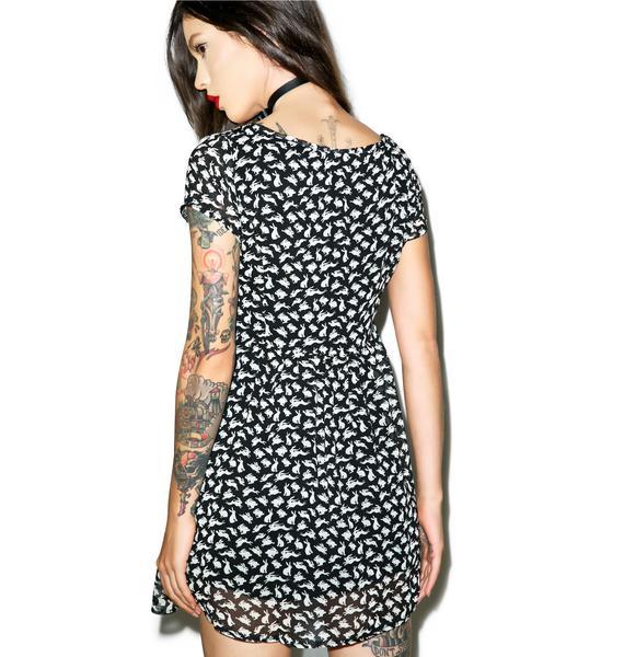 Bunnytime Babydoll Dress