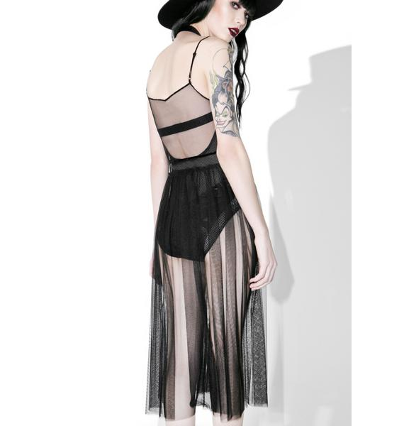 Femme Fatale Sheer Dress