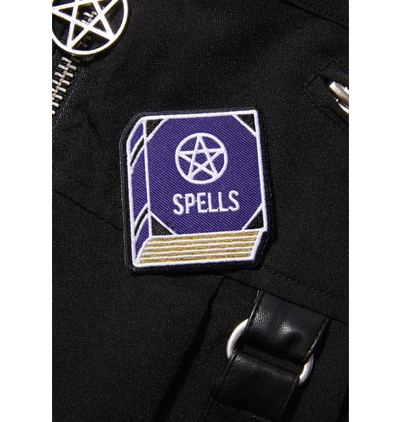 Witch Worldwide Spell Book Patch