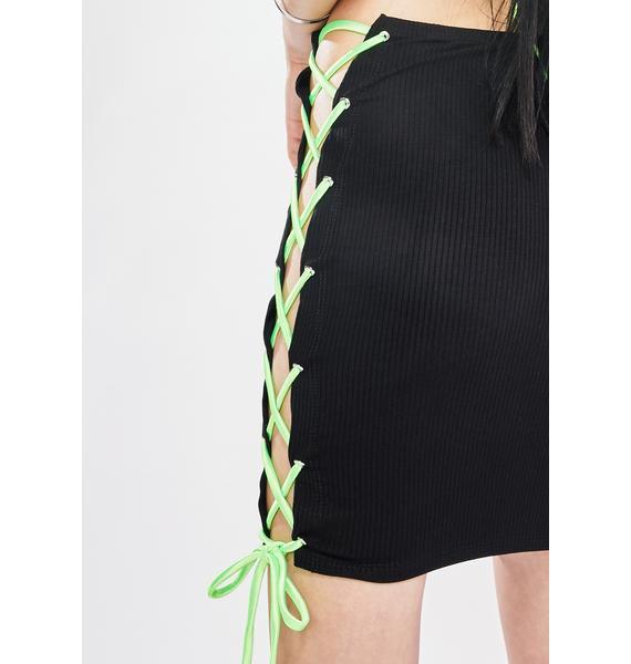 Outta Ya League Mini Skirt