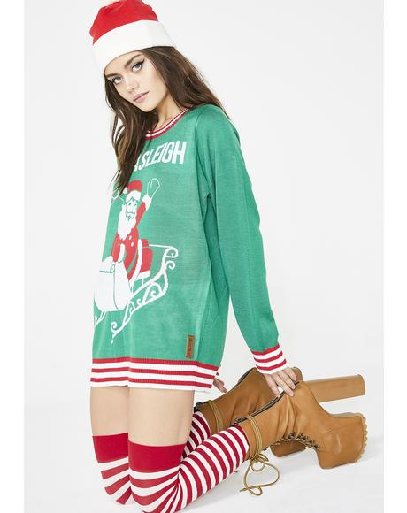 Namasleigh Ugly Christmas Sweater