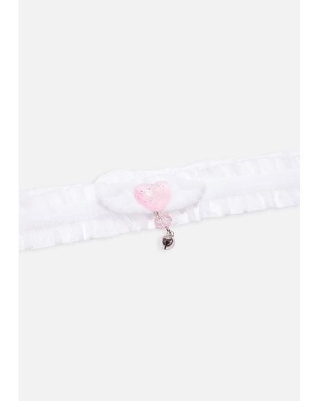 It's Tea Time Ruffle Choker