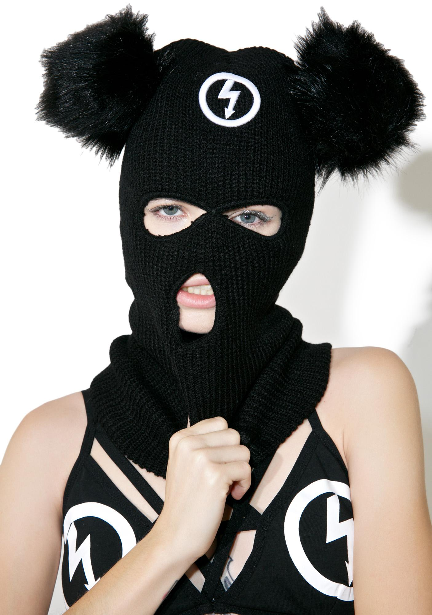 Killstar Mousetrap Balaclava Mask