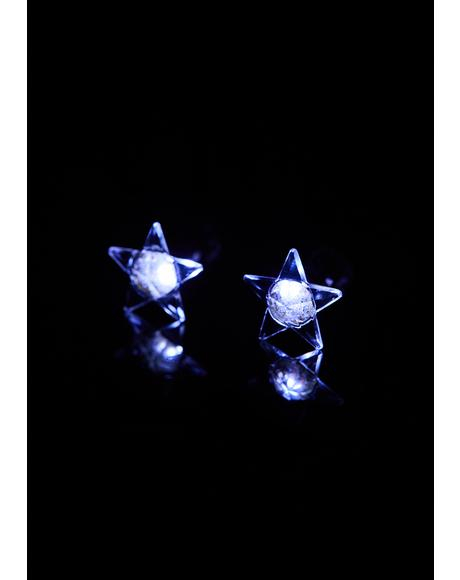 Starry Night Light Up Earrings