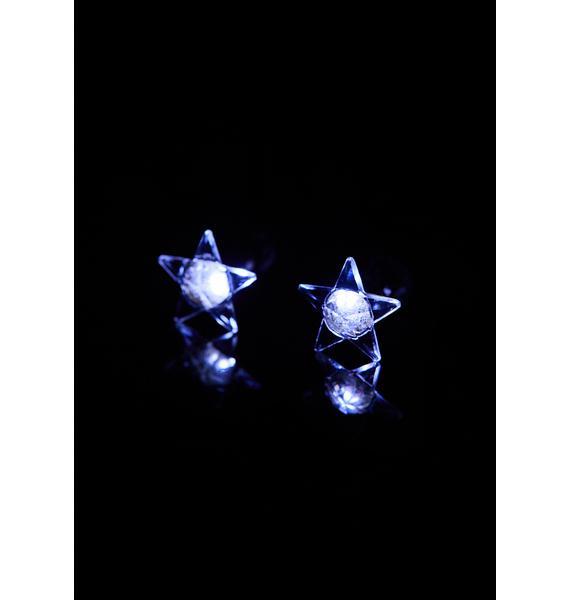 Starry Night Light Up Earrings