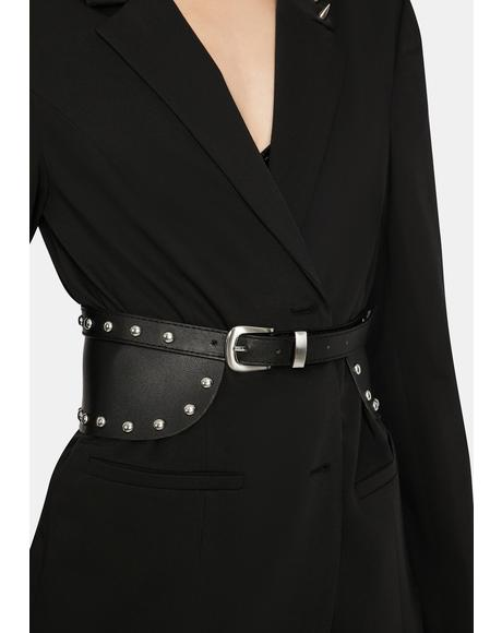 Your New Obsession Studded Waist Belt