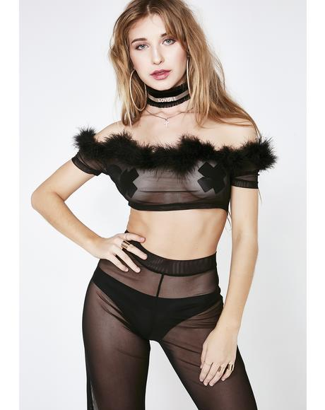 Lavish Class Sheer Set