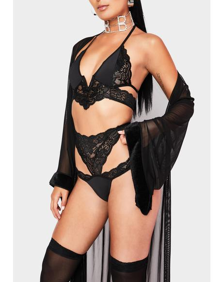 Newfound Interest Lingerie Set