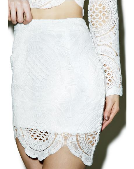 Victoriana Lace Skirt