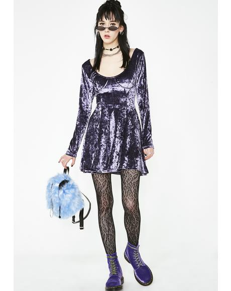 Misfit Magic Velvet Dress