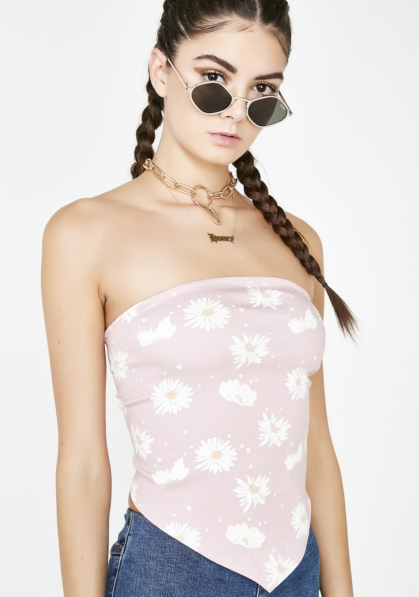 Hazey Dazey Crop Top