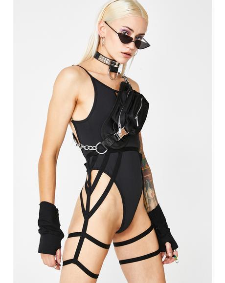 Zoom Raider Bodysuit N' Harness Set