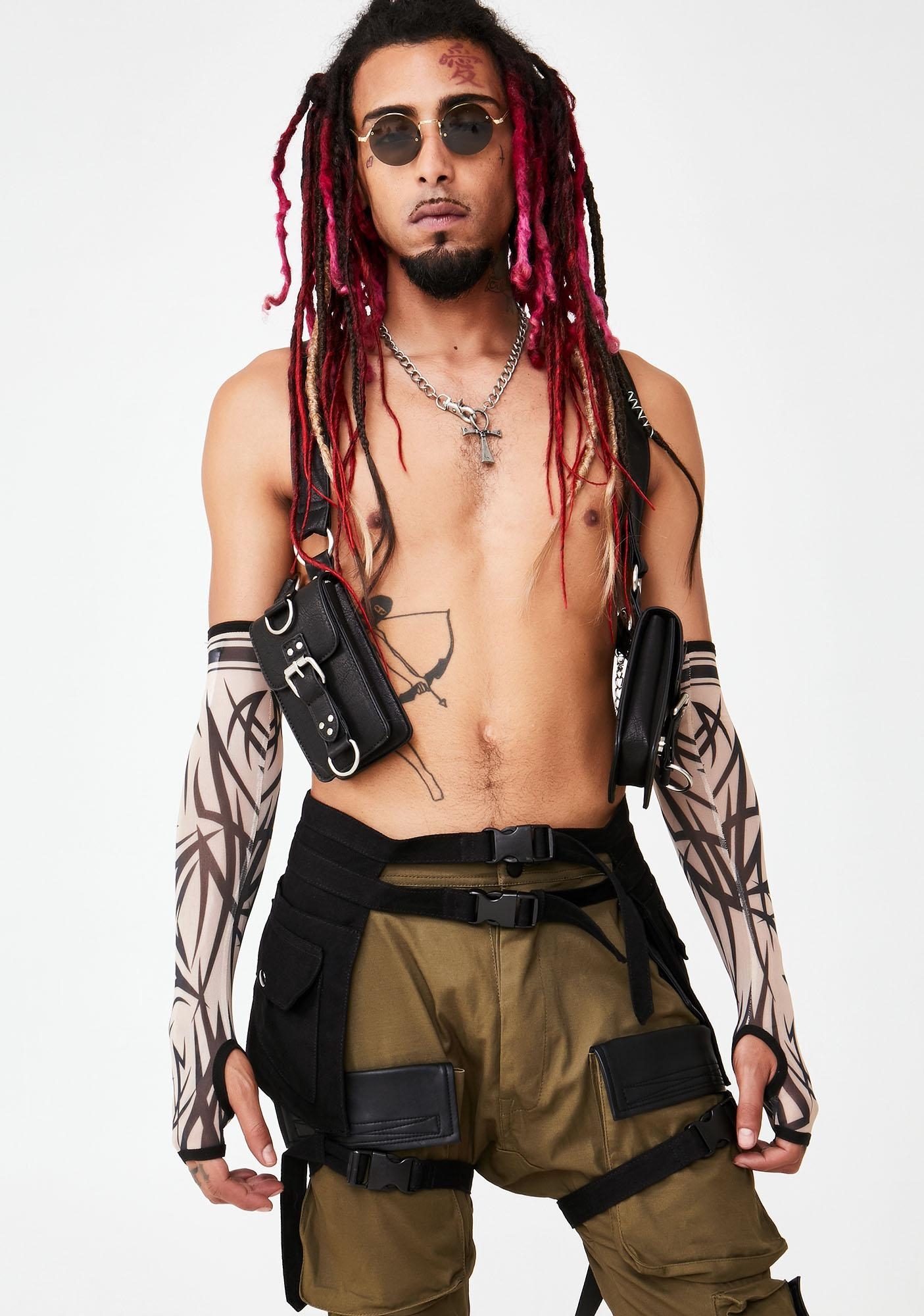 Club Exx Into The Abyss Belt Bag