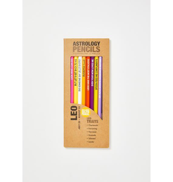 Whiskey River Soap Leo Pencils