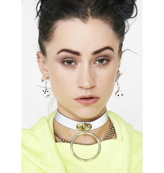 Look At Me Now Reflective Choker