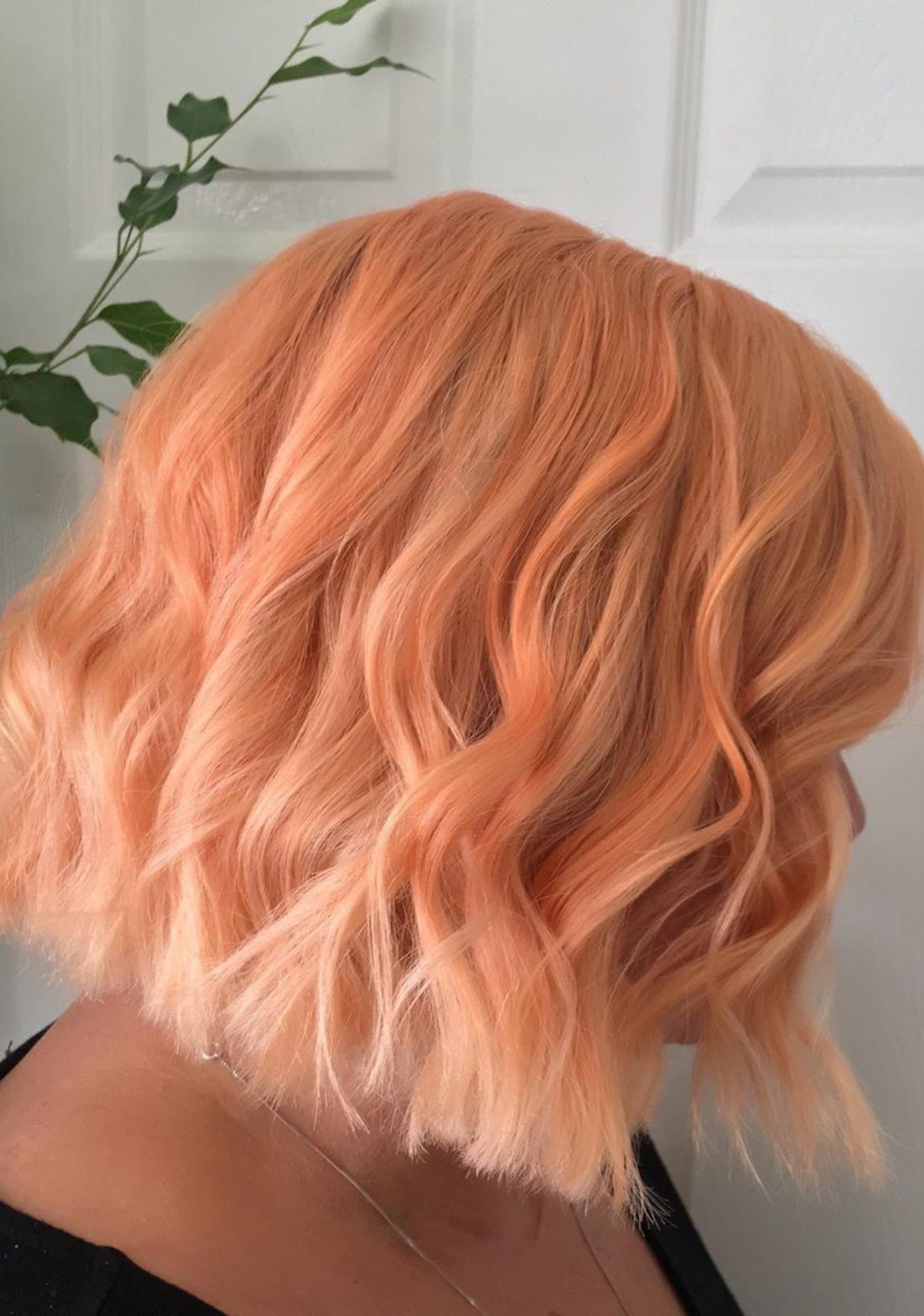 SHRINE Peach Hair Drop It Dye Kit