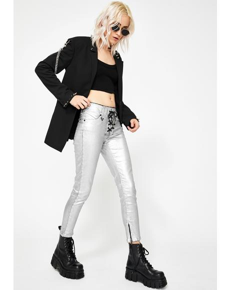 Blondie Lace Up Pants