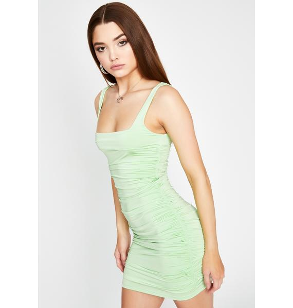 Girly Girl Ruched Dress