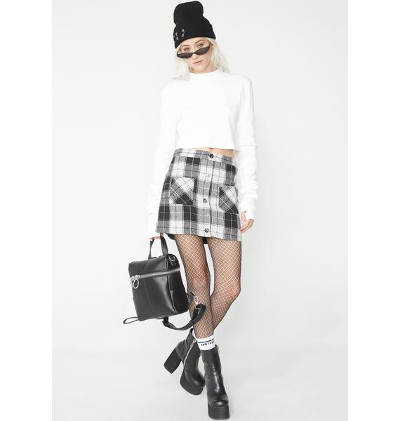 Hard Feelings Mini Skirt