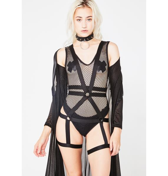 Breathless Fuxxery Bodysuit N' Harness