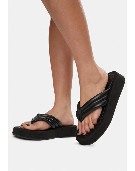 Wicked High Hopes Platform Flip Flops