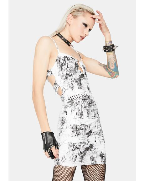 Snow Ruin The Friendship Mini Dress