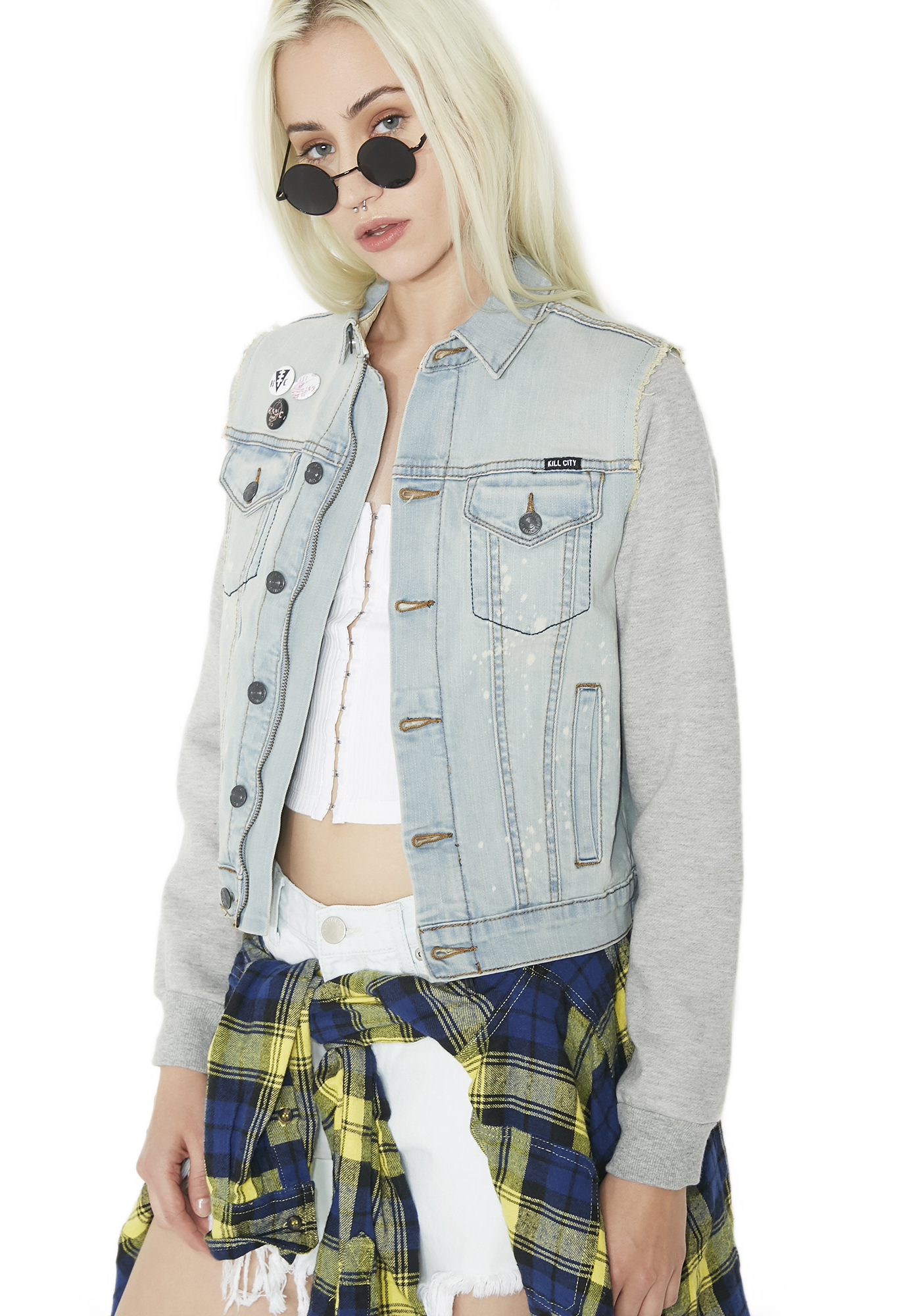 Kill City Splatterhaus Denim Jacket