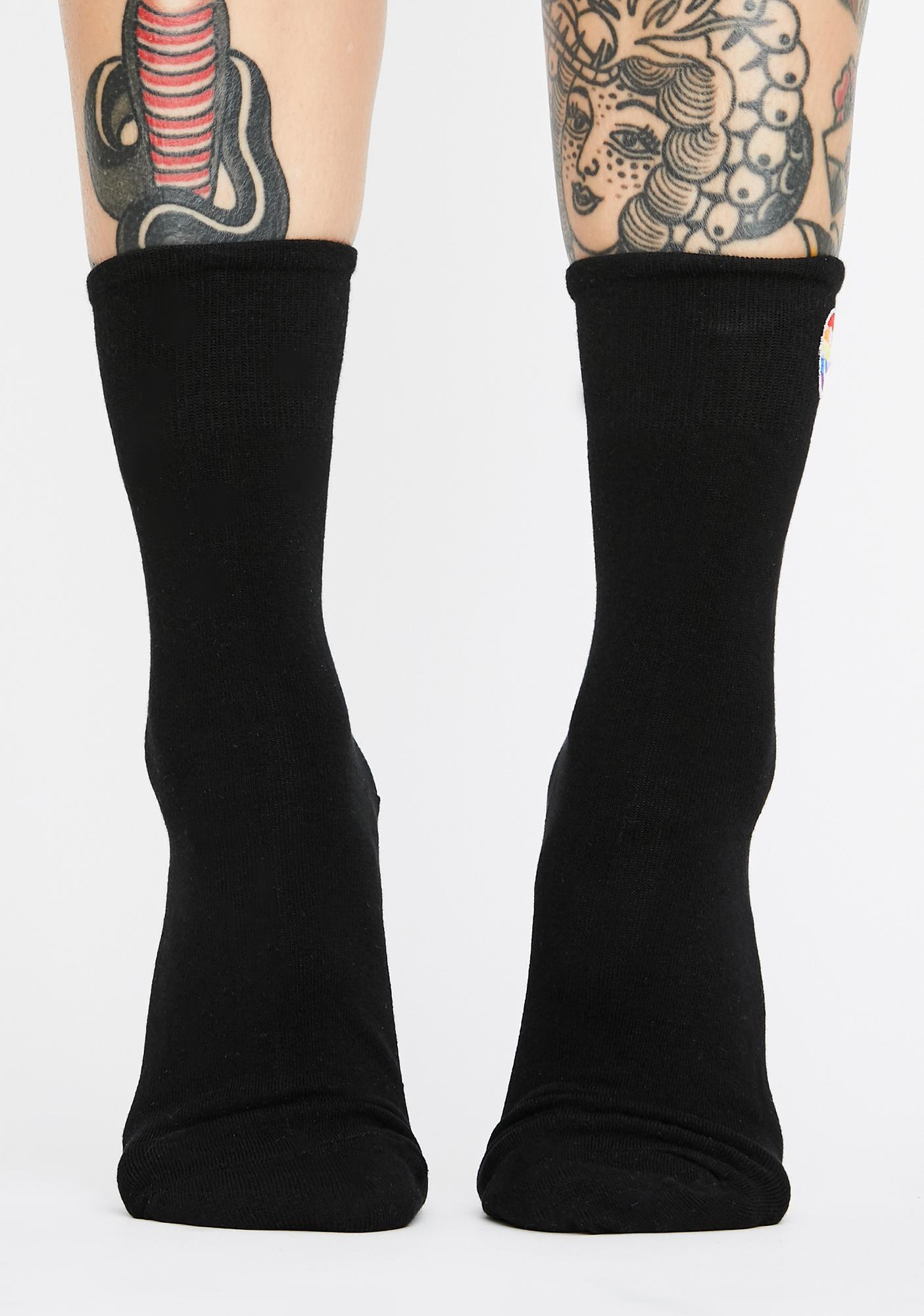Twisted Revolt Crew Socks