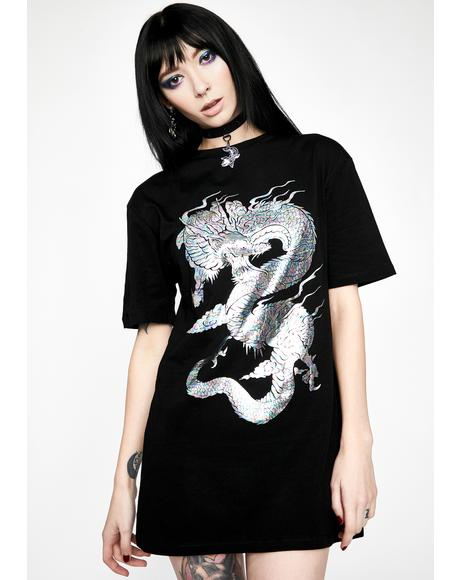 Ancient Forces Oversized Tee