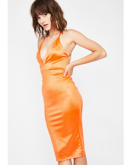 Glam Connection Midi Dress